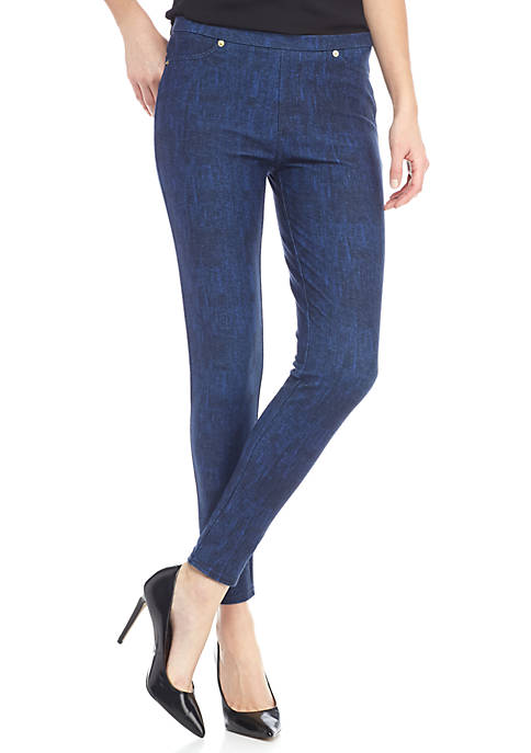MICHAEL Michael Kors Denim Pull On Legging