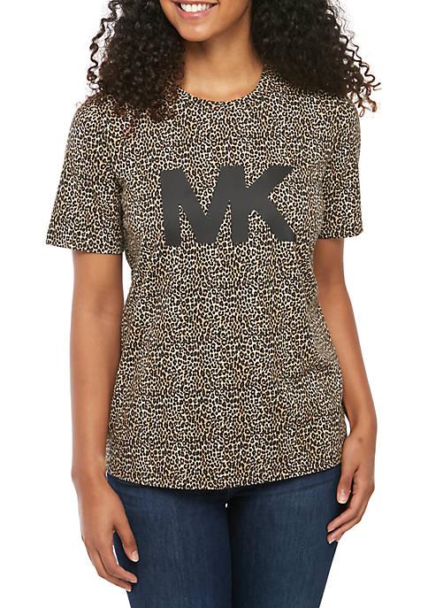 Leopard Logo T-Shirt