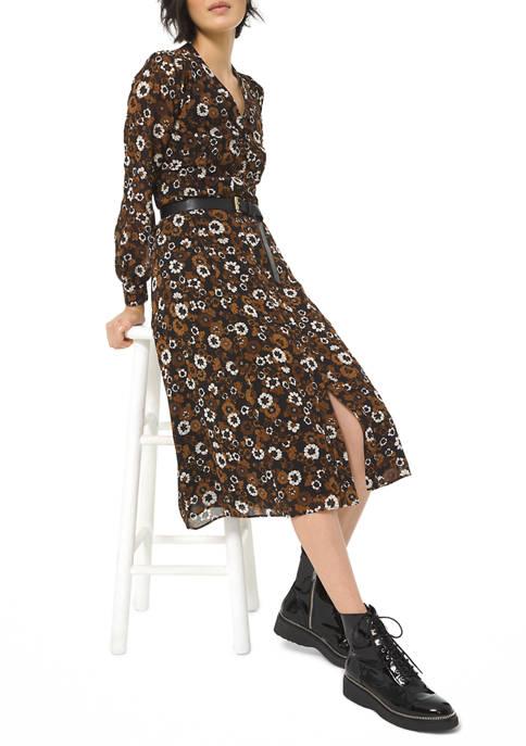 MICHAEL Michael Kors Womens Garden Shirt Dress