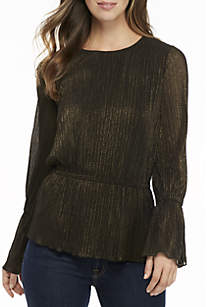 Bell Cuff Cinched Top