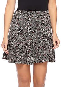 Boho Block Print Skirt