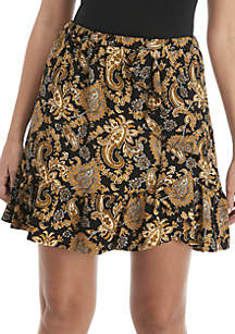 Sweetheart Paisley Skirt
