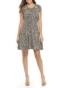 Boho Block Printed Dress