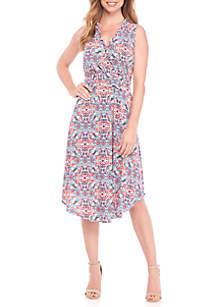 Sunny Foil Print Jumpsuit