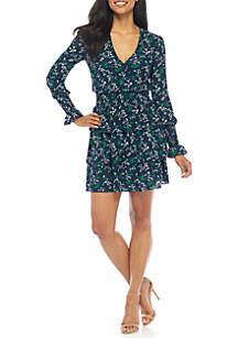 Boho Flutter Multi Tier Dress