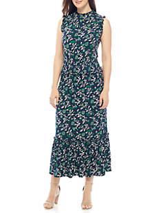 Boho Smocked Waist Dress