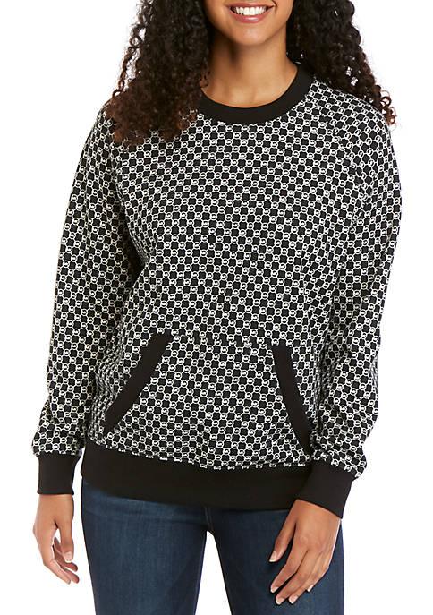 MICHAEL Michael Kors Logo Crew Sweatshirt