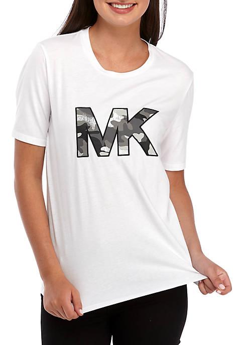 MICHAEL Michael Kors Camo Logo T-Shirt