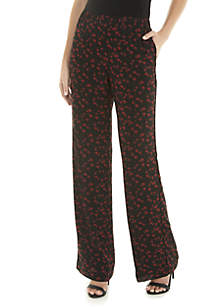 Mini Rose Wide Leg Soft Pants