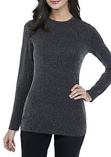 Sparkle Stripe Knit Top