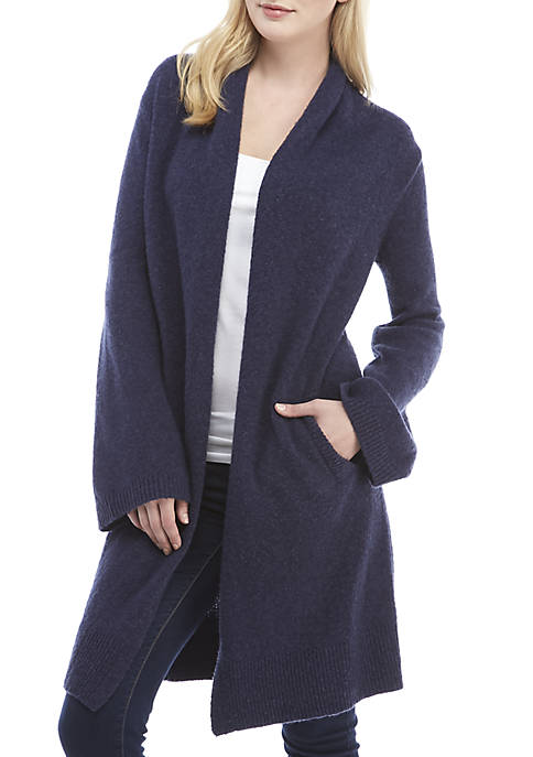 MICHAEL Michael Kors Long Open Front Cardigan