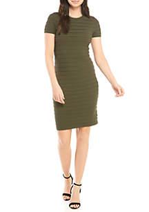 MICHAEL Michael Kors Ruffle Body Con Dress