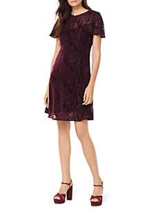 High Waist A Line Dress