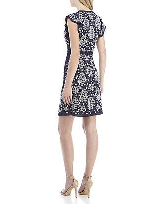 29b4a9f8311 MICHAEL Michael Kors. MICHAEL Michael Kors Sequin Floral Lace Sheath Dress