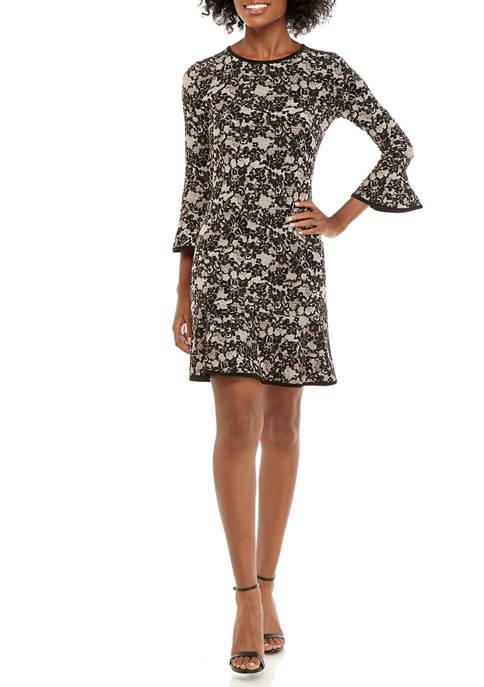MICHAEL Michael Kors Womens Glam Lace Flounce Hem