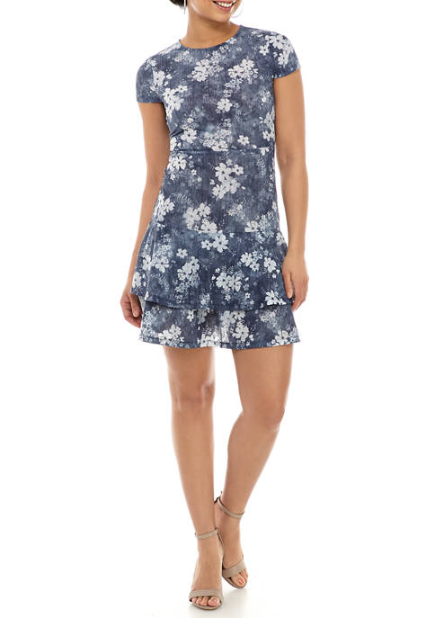 MICHAEL Michael Kors Womens Floral Double Tier Cap