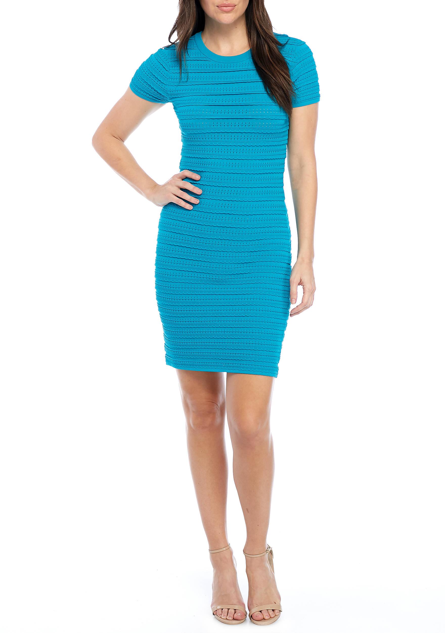 MICHAEL Michael Kors Mini Ruffle Dress | belk