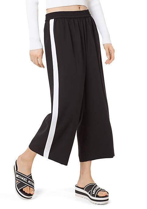 Crop Stripe Pants