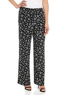 MICHAEL Michael Kors Wildflower Wide Leg Soft Pants