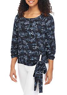 1a1be1c960c8a MICHAEL Michael Kors Stud Logo T Shirt · MICHAEL Michael Kors Camo Cobra  Side Tie Top
