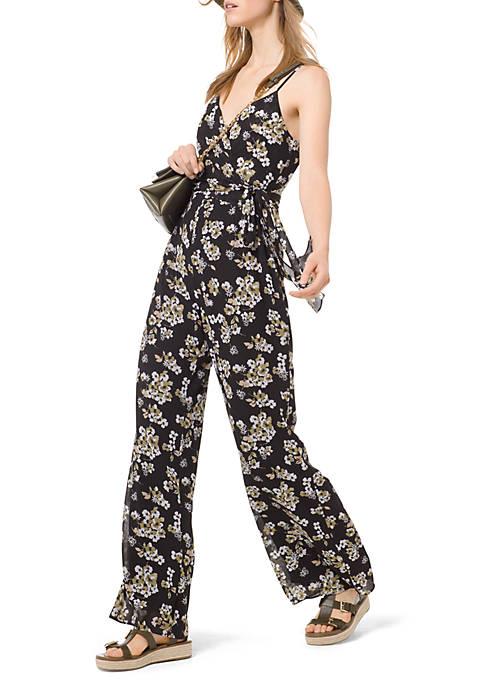 Fleur Cami Wrap Jumpsuit