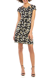 MICHAEL Michael Kors Floral Midi Dress