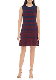 MICHAEL Michael Kors Paisley Panel Fit and Flare Dress