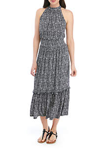 MICHAEL Michael Kors Spring Tiered Maxi Dress