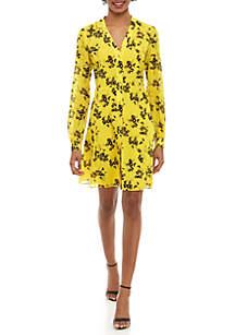76533530369f6 ... MICHAEL Michael Kors Floral Midi Shirt Dress