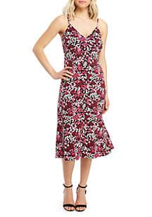 MICHAEL Michael Kors Garden Cami Midi Dress