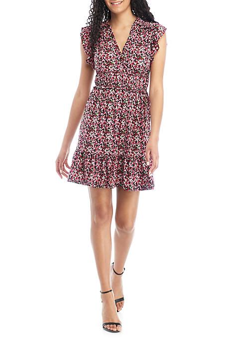 MICHAEL Michael Kors Garden Ruched Dress