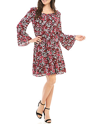 d2f5ad336 MICHAEL Michael Kors Mod Garden Smock Neck Dress | belk