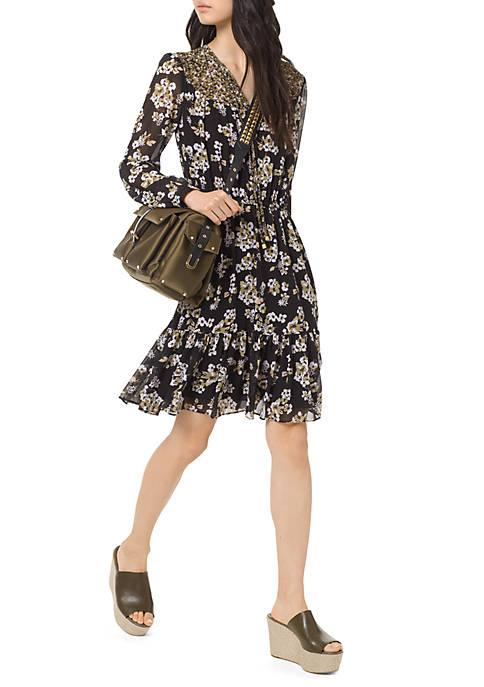 Combo Bib Fleur Dress
