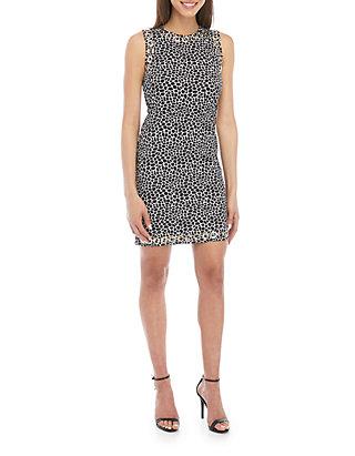 2418c68e49e6 MICHAEL Michael Kors Reptile Grommet Sheath Dress | belk