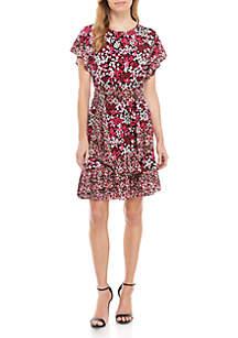 MICHAEL Michael Kors Garden Wrap Dress