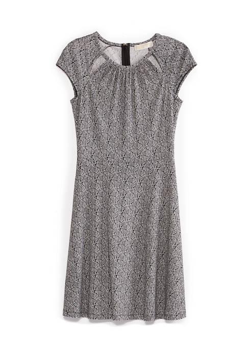 Paisley Geo Dress