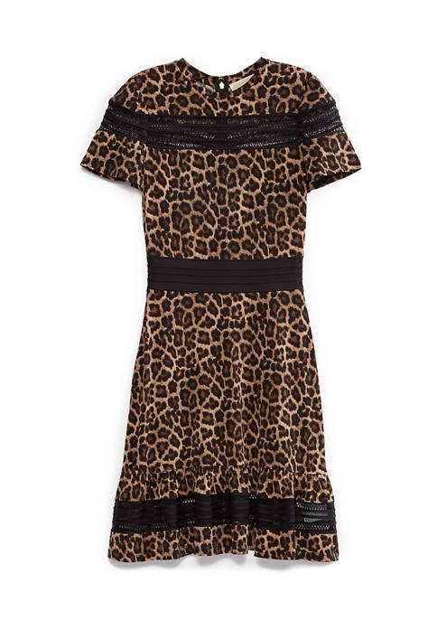 Leo Mesh Mini Dress