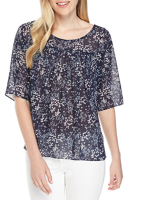 MICHAEL Michael Kors Scattered Blooms Top
