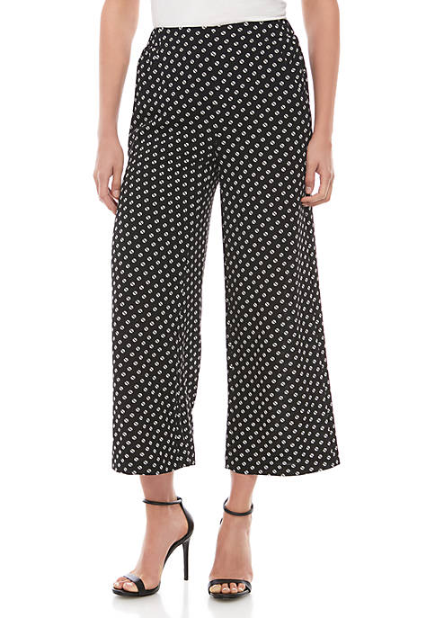MICHAEL Michael Kors Slice Dot Soft Pants