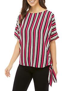 90d9b5ac MICHAEL Michael Kors Reef Dog Tag Zip Shirt · MICHAEL Michael Kors Bold  Stripe Side Tie Blouse