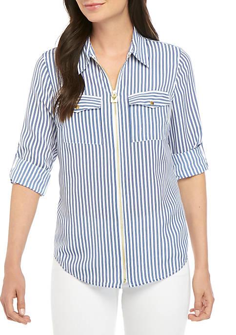 Stripe Dogtag Shirt