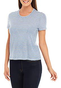 MICHAEL Michael Kors Stripe Baby T Shirt