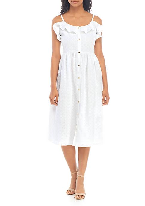 MICHAEL Michael Kors Eyelet Cami Dress