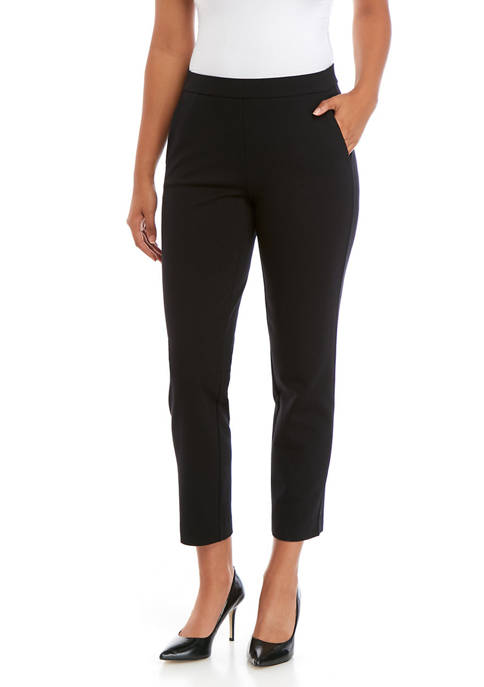 MICHAEL Michael Kors Petite Ponte Pull On Pants