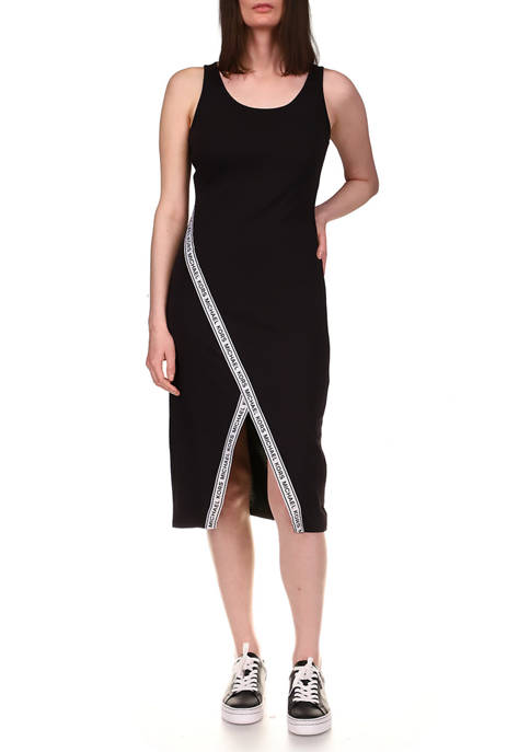 MICHAEL Michael Kors Petite Sport Logo Midi Dress
