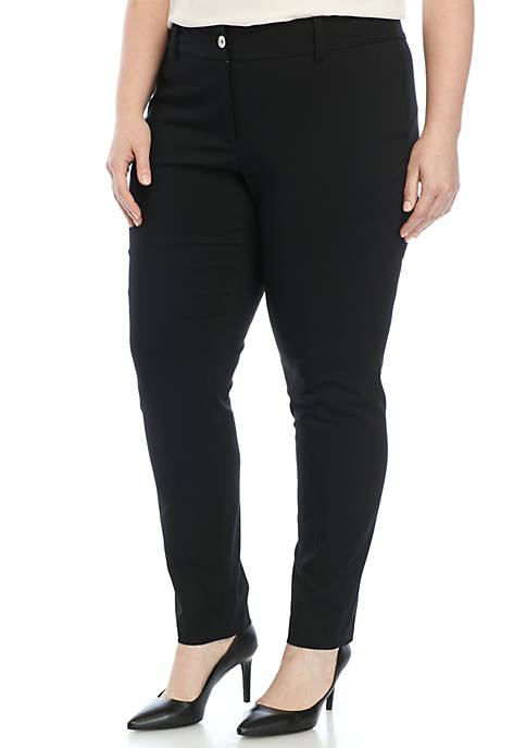 MICHAEL Michael Kors Plus Size Stretch Miranda Pants