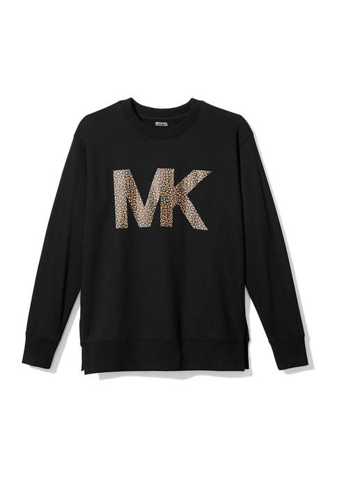 MICHAEL Michael Kors Plus Size Animal Logo Long