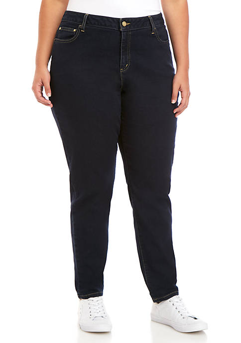 MICHAEL Michael Kors Plus Size High Waist Skinny