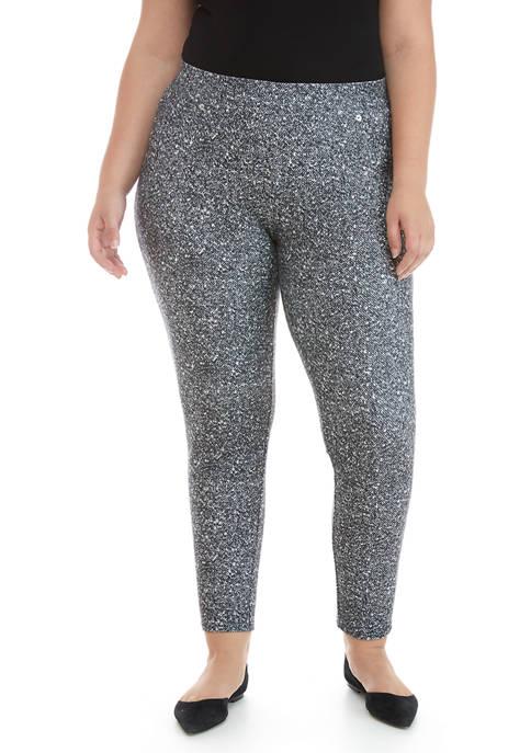 MICHAEL Michael Kors Plus Size Tweed Pull On