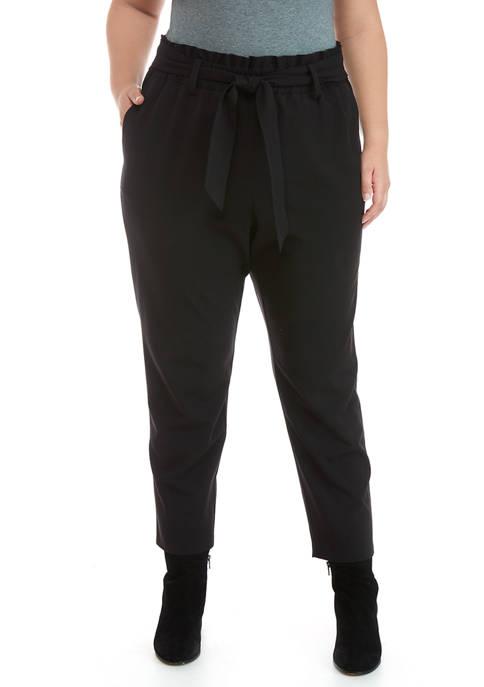 MICHAEL Michael Kors Plus Size Paper Bag Waist